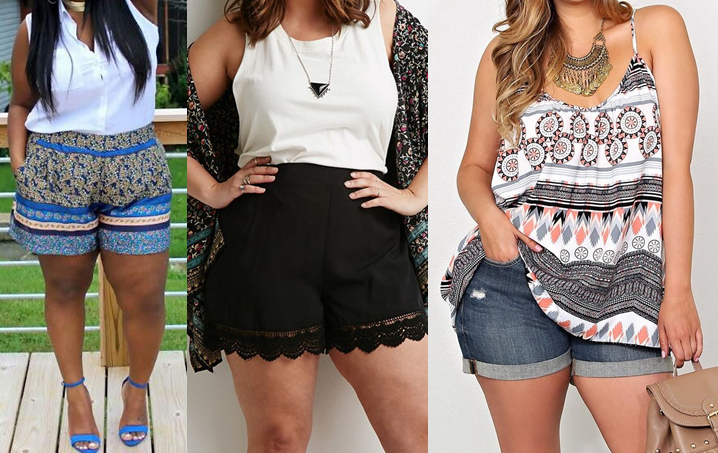 plus-size-shorts