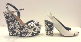 Loucos e Santos - Chic e descontraído na medida certa, estes sapatos certamente levantam a produção.
